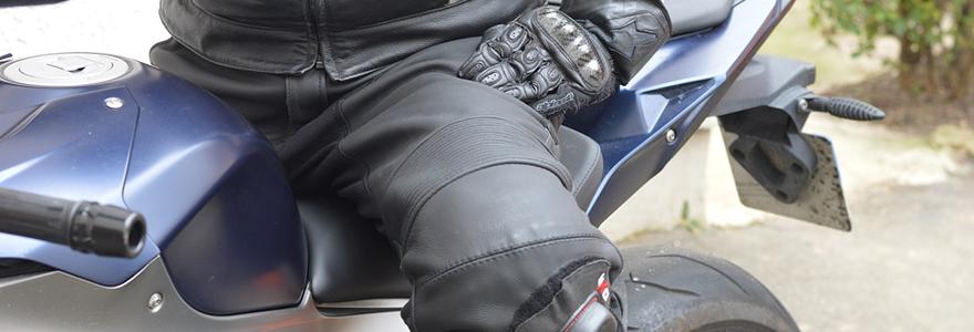 combinaison de moto en cuir