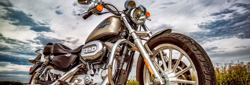 Motos Harley-Davidson d'occasion